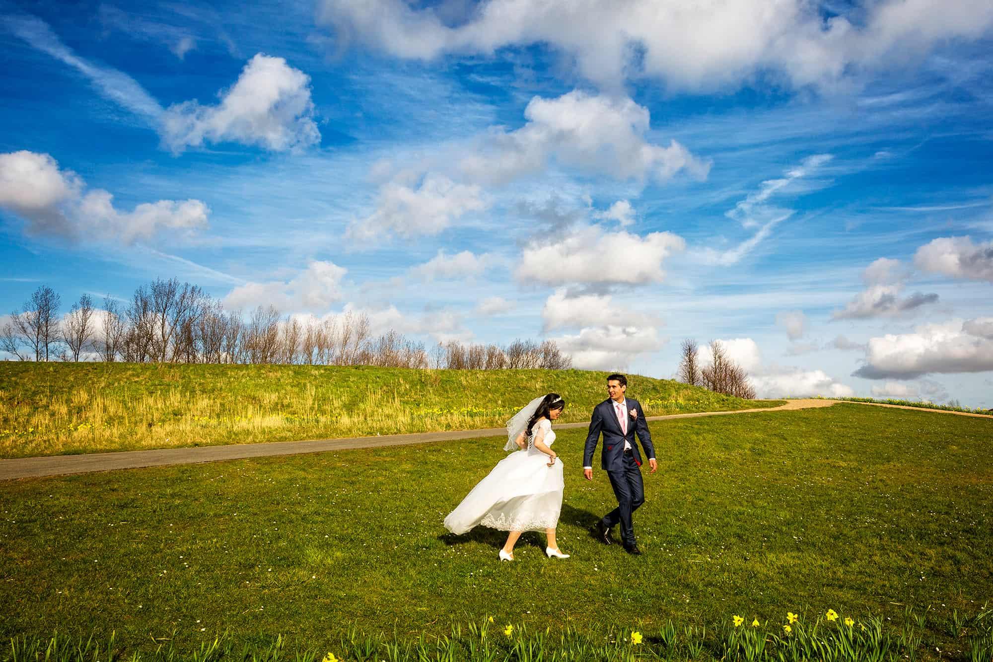 Bruidsfotografie Toolenburgerplas Hoofddorp