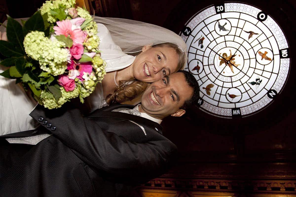 trouwen trouwreportage kasteel Oud-Wassenaar fotoshoot