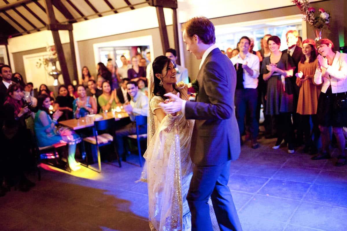 trouwen feestavond bruiloft feest eerste dans dansen