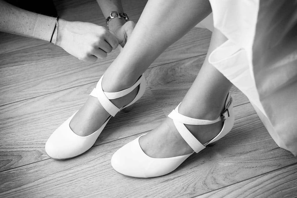 trouwschoenen schoenen bruid trouwreportage