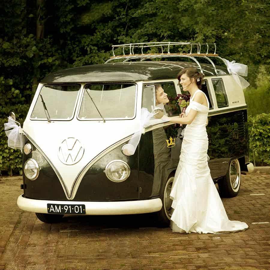 trouwauto trouwvervoer trouwdag bruiloft trouwen auto