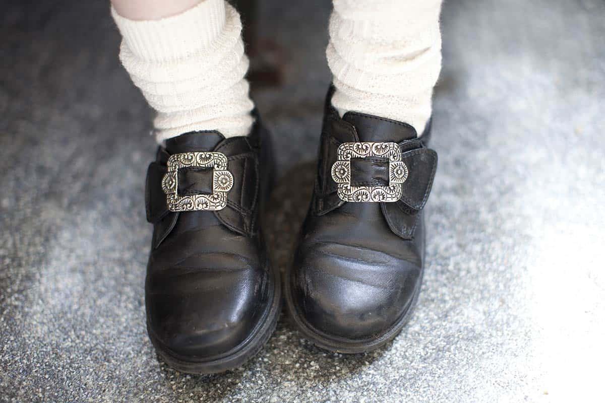 noorse schoenen bruiloft noorwegen trouwen trouwdag