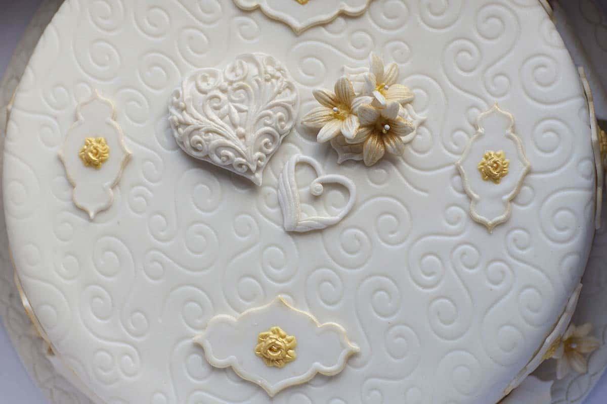 bruidstaart taart sprookje herfst bruiloft trouwen trouwdag