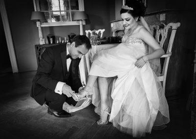 foto Trouwschoenen bruidegom bruid
