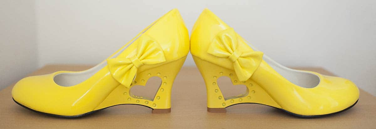 trouwschoenen geel voorbeeld gele hip trouwreportage bruidsfotografie