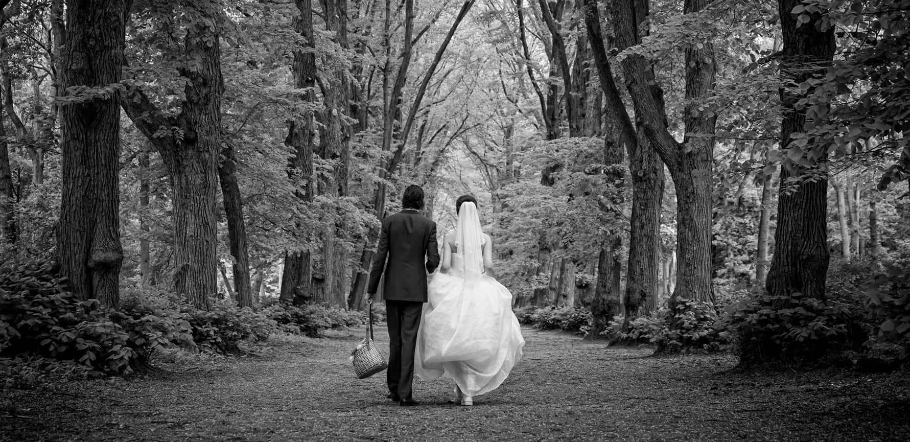 bruidsfotografie laan Groenendaal