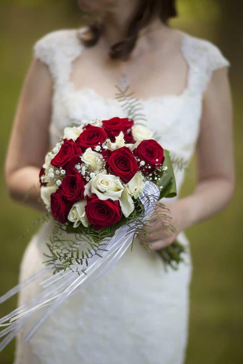 bruidsboeket trouwedag trouwen bruid bruidsfotografie trouwreportage