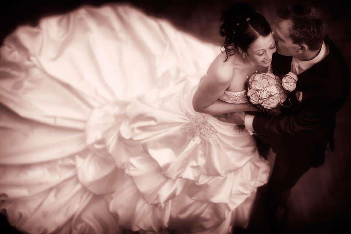 Bruidsfotograaf Efteling / trouwfoto's in het Sprookjesbos