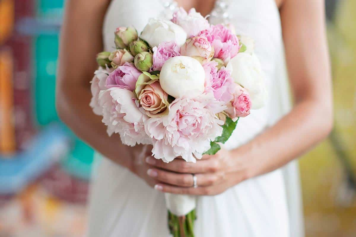 foto bruidsboeket bruid trouwboeket voorbeeld verzameling