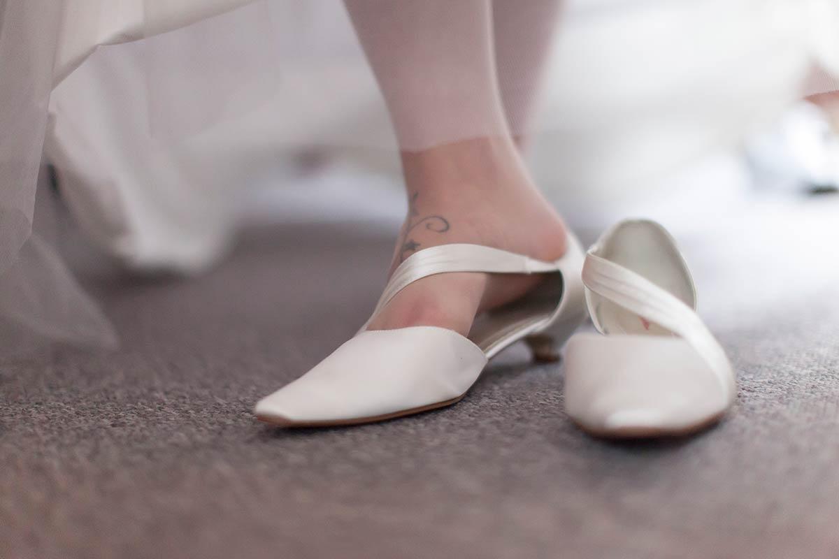 foto trouwschoenen bruid Hoofddorp Haarlem