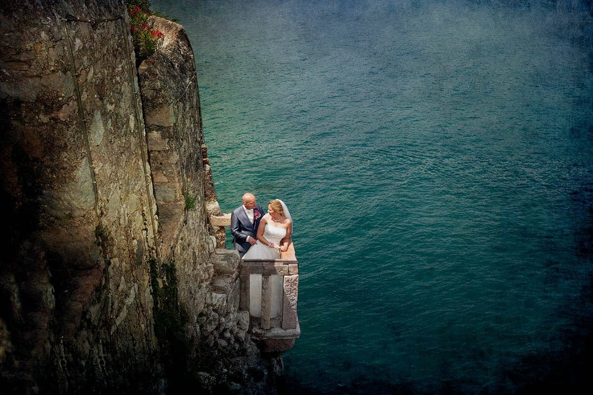 Bruidsfotograaf Italië, Malcesine, Lazise, fotografie, trouwen, trouwreportage, bruidsreportage, castle, kasteel, Gardameer, Lake Garda