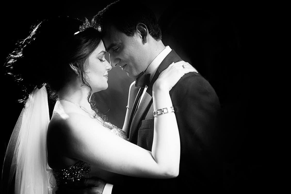 bruid & bruidegom trouwfoto