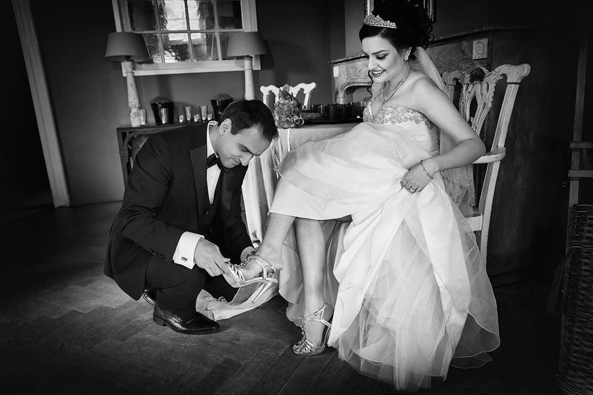 bruid bruidegom schoenen