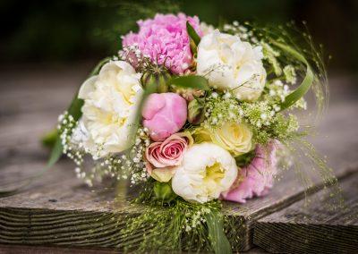 bruidsboeket trouwdag