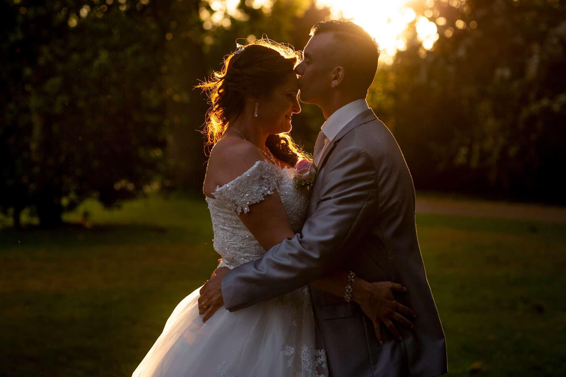 bruidsfotografie gouden uur