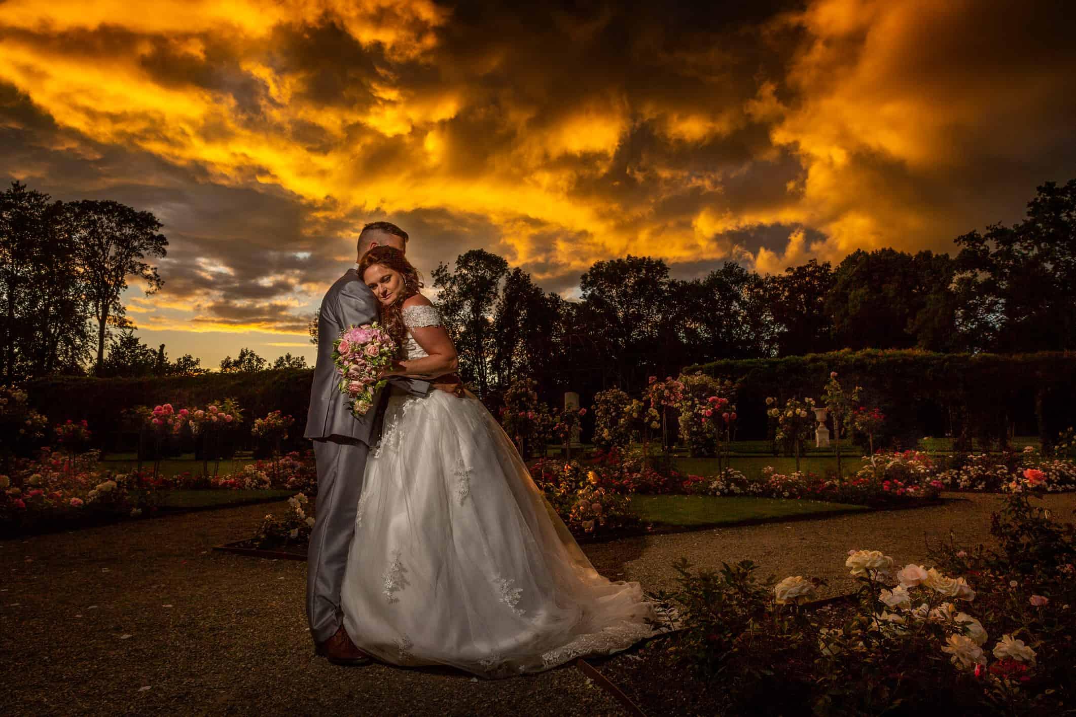 Bruidsfoto's Gouden Uur