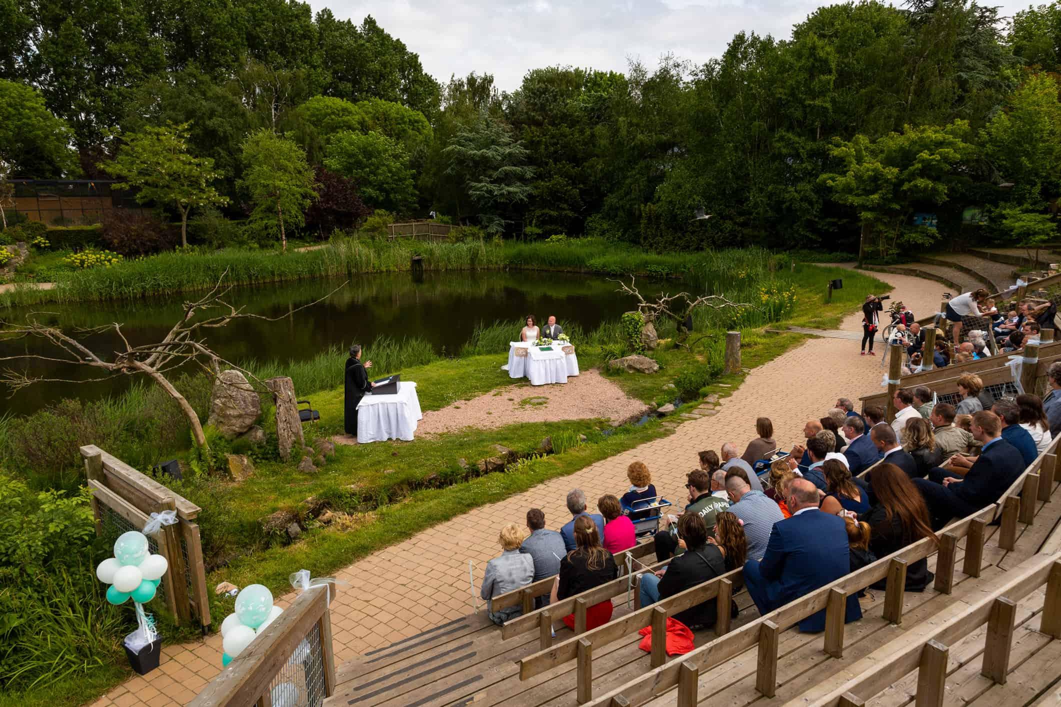 huwelijksceremonie Avifauna