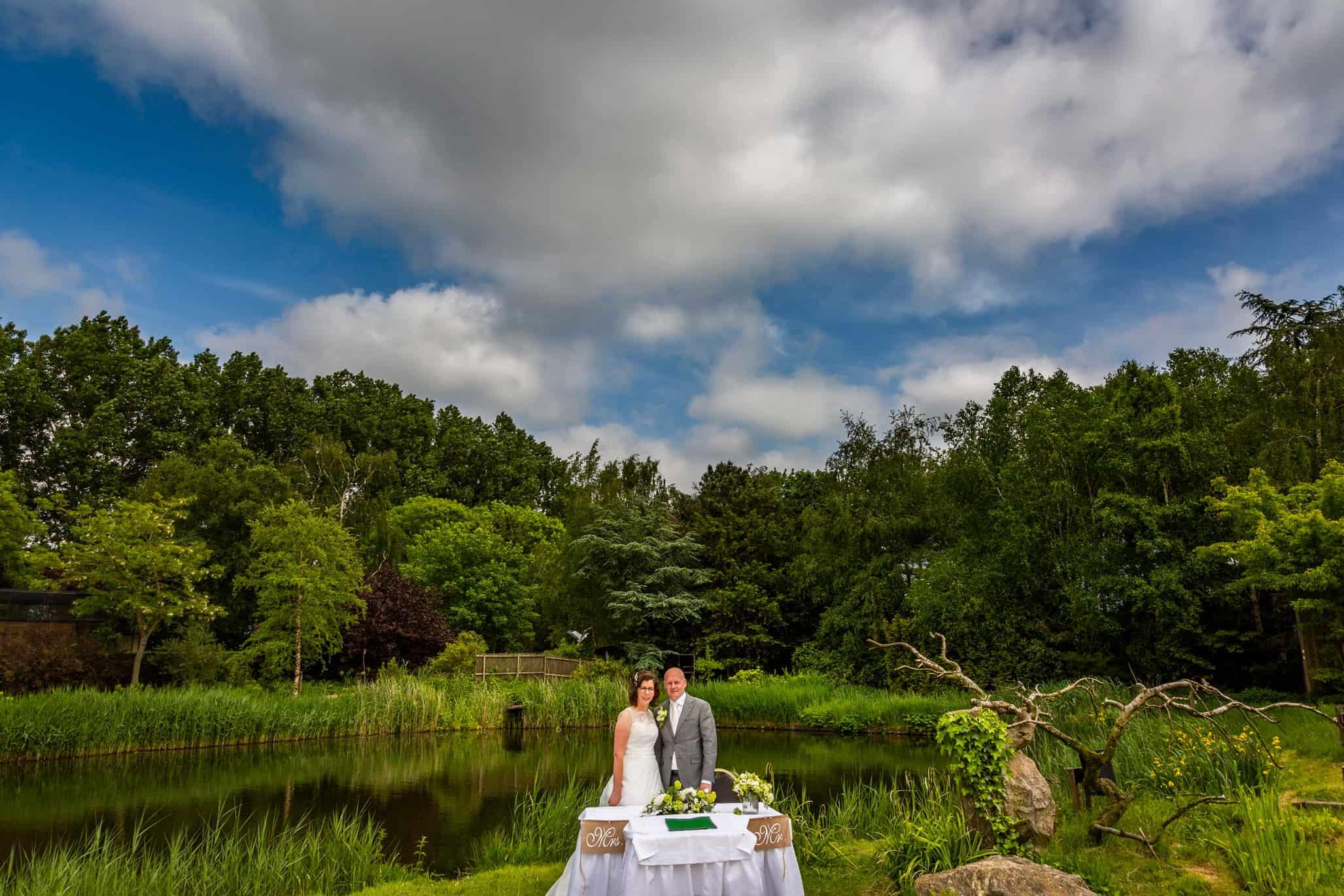 huwelijk Avifauna fotograaf