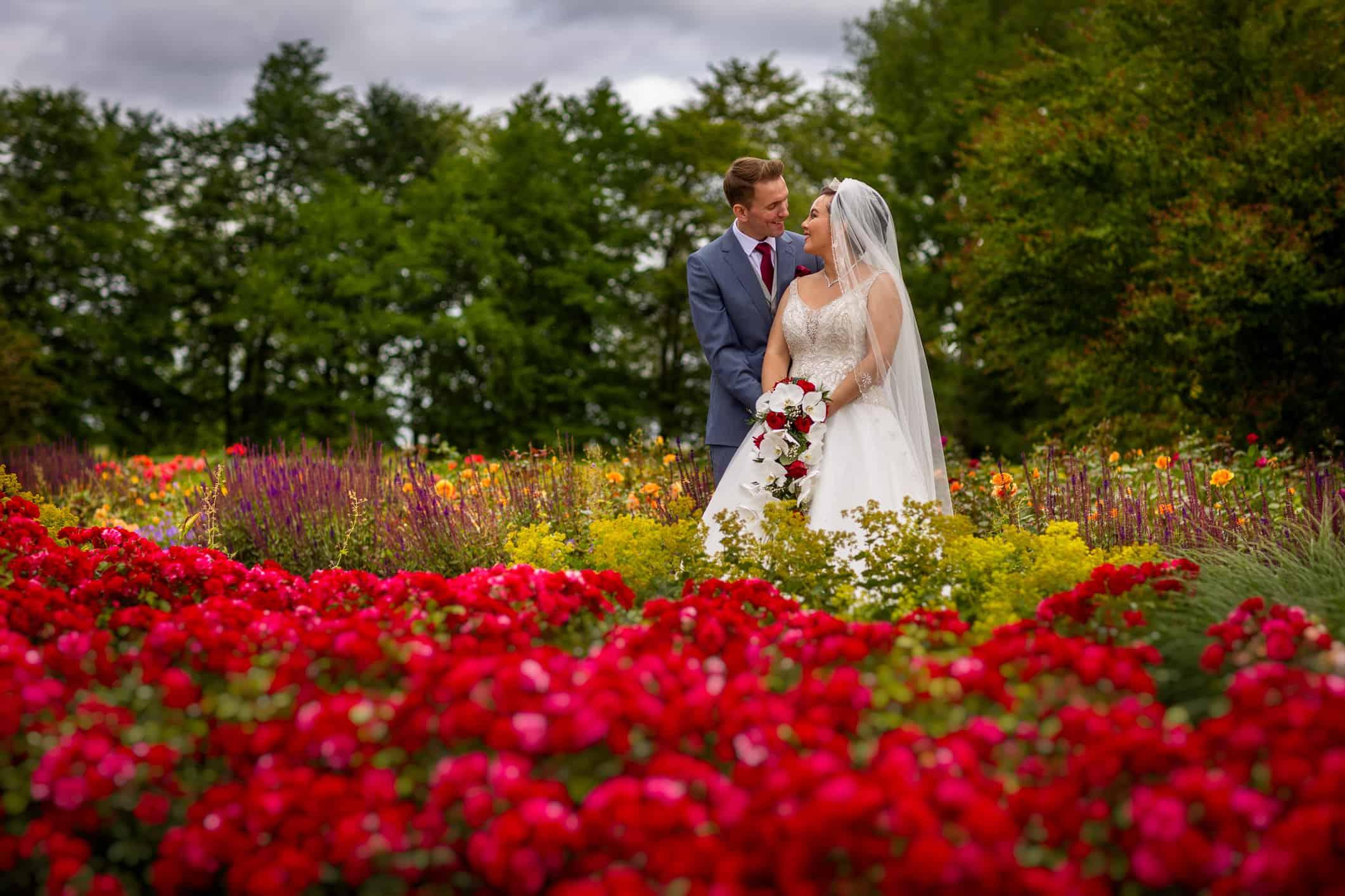 bruidsfoto Haarlemmermeerse Bos