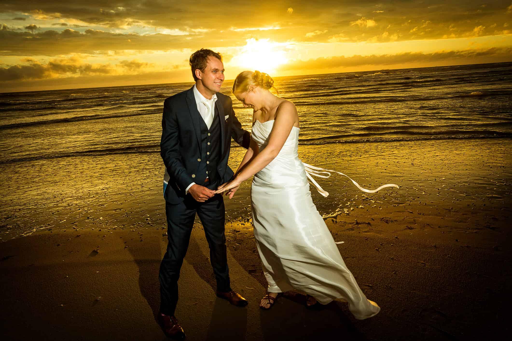 fotografie magisch uur bruiloft