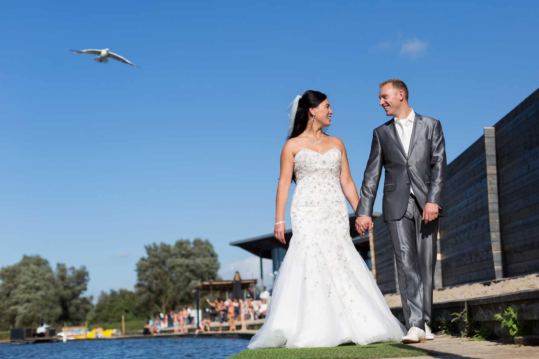 trouwfoto villa westend bruidsfotograaf