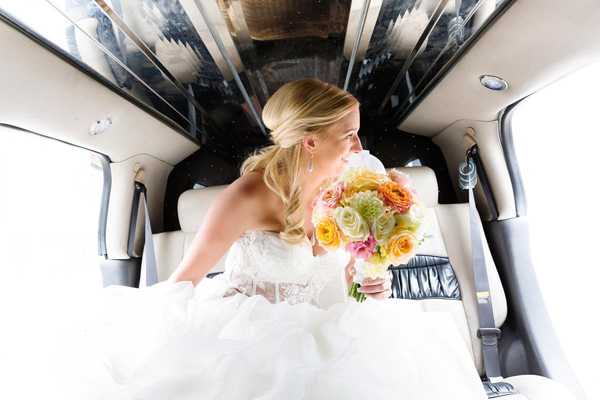 trouwfoto bruid