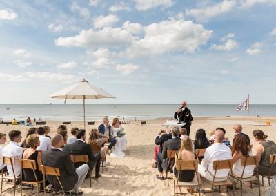 huwelijksceremonie strand plechtigheid fotograaf