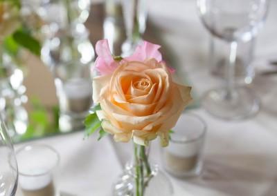 diner trouwfoto bruiloft