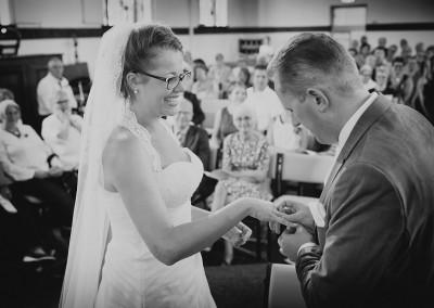 fotografie kerk bruiloft trouwen