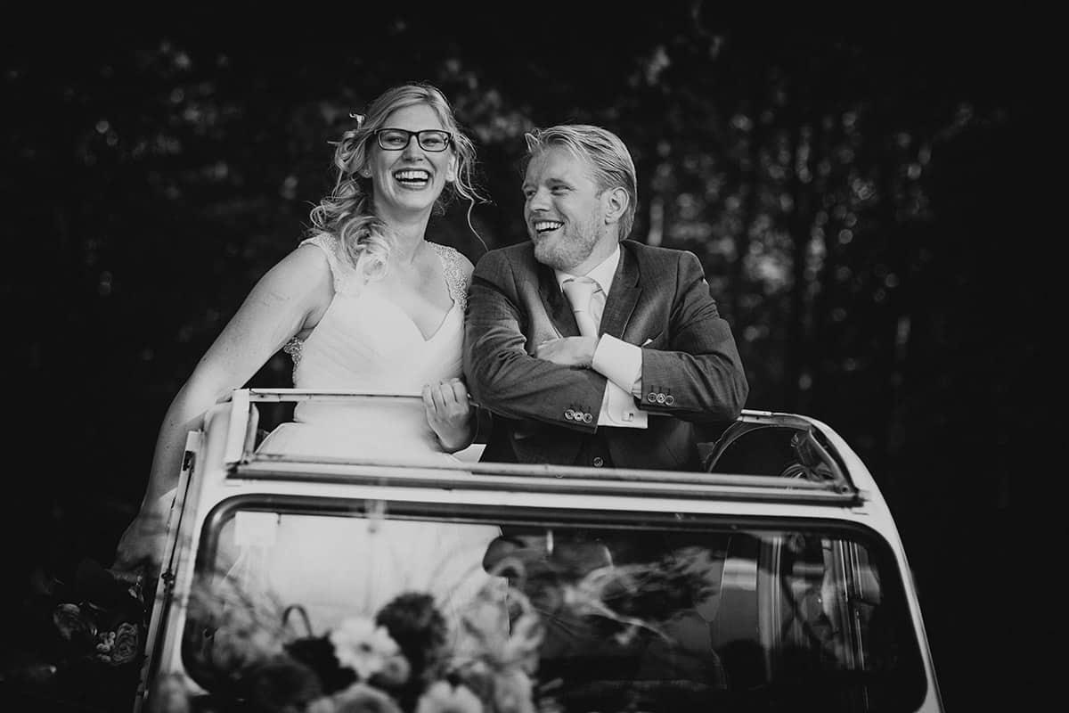 mooie trouwfoto bruidspaar