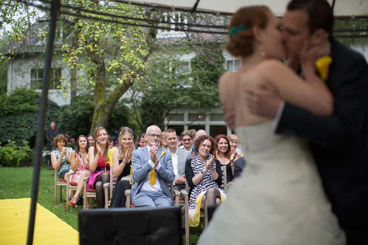 bruidsfotografie kus huwelijksceremonie