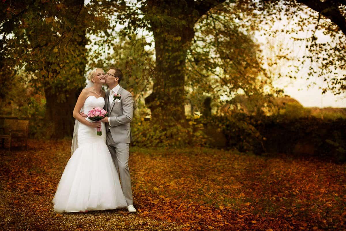 herfst bruidsfotografie