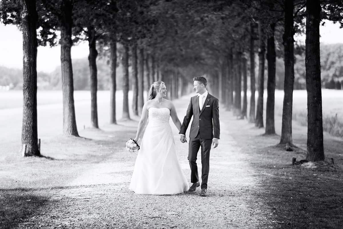 Hoe lang duurt een fotoshoot trouwreportage