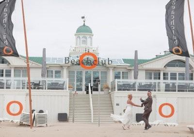 trouwen Beachclub O Noordwijk fotograaf