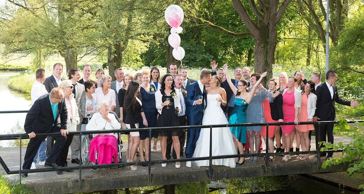 trouwen Herberg Vlietzigt Rijswijk huwelijksbootje fotograaf bruidsfotografie
