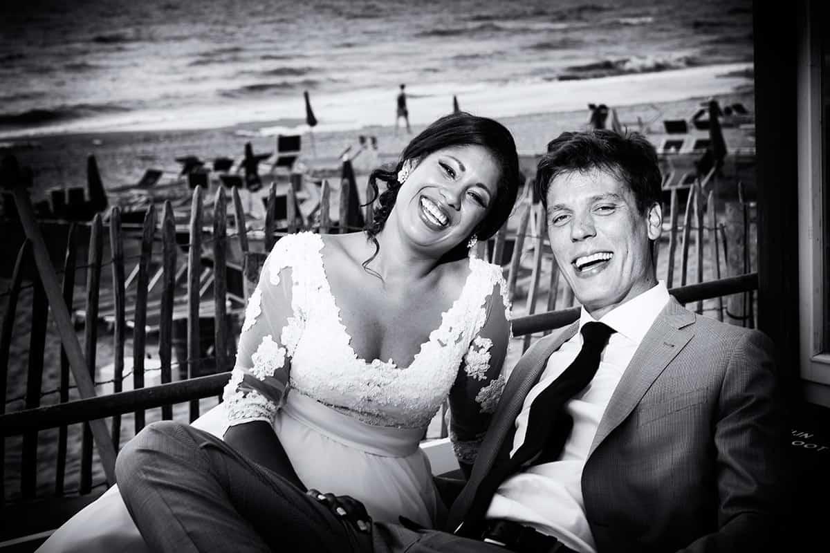 korte fotosessie trouwdag
