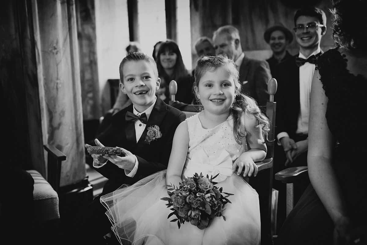 trouwreportage zwart-wit journalistiek Leiden bruidsfoto