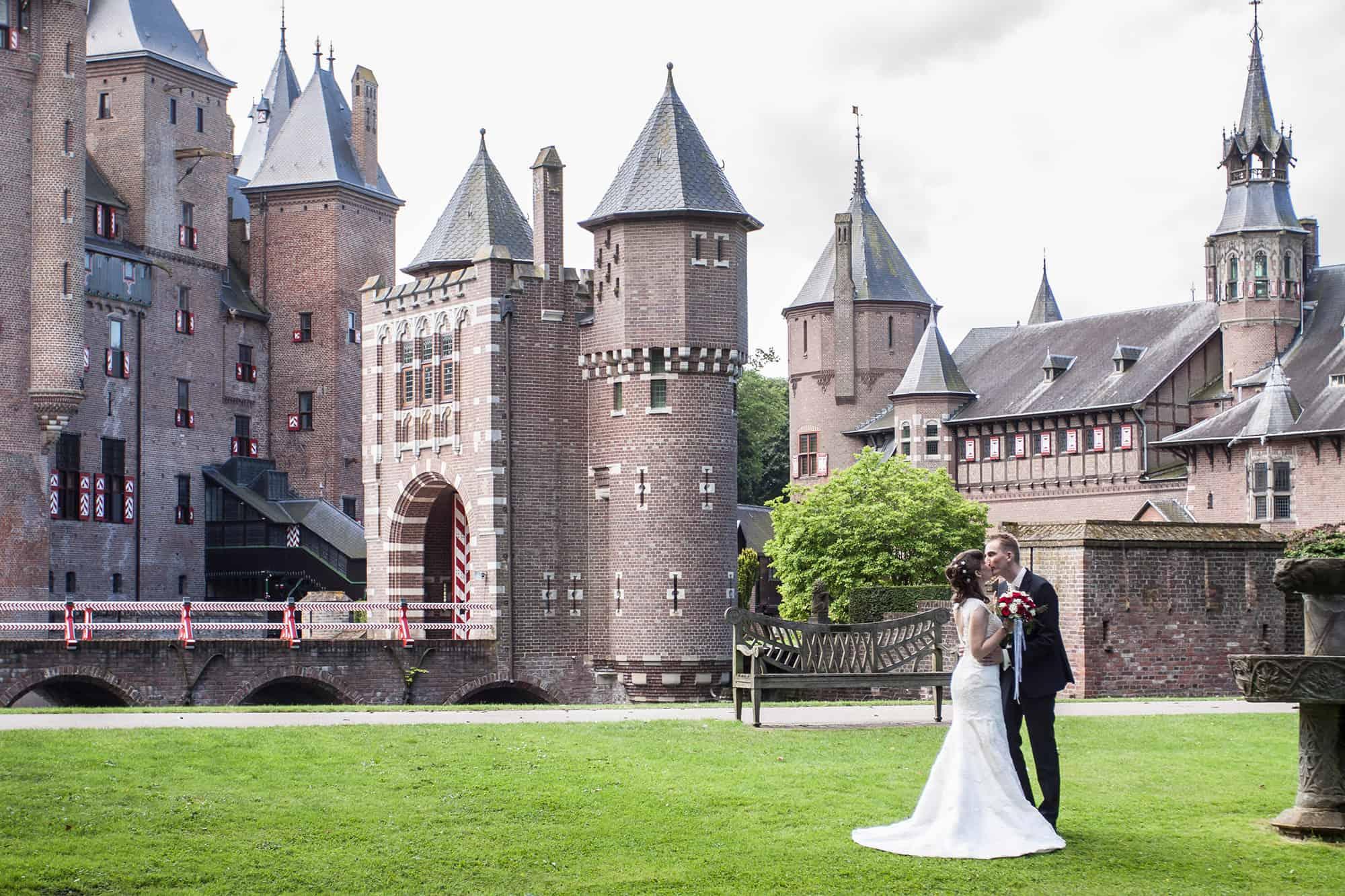 Trouwlocatie Kasteel De Haar   Mooie trouwreportages