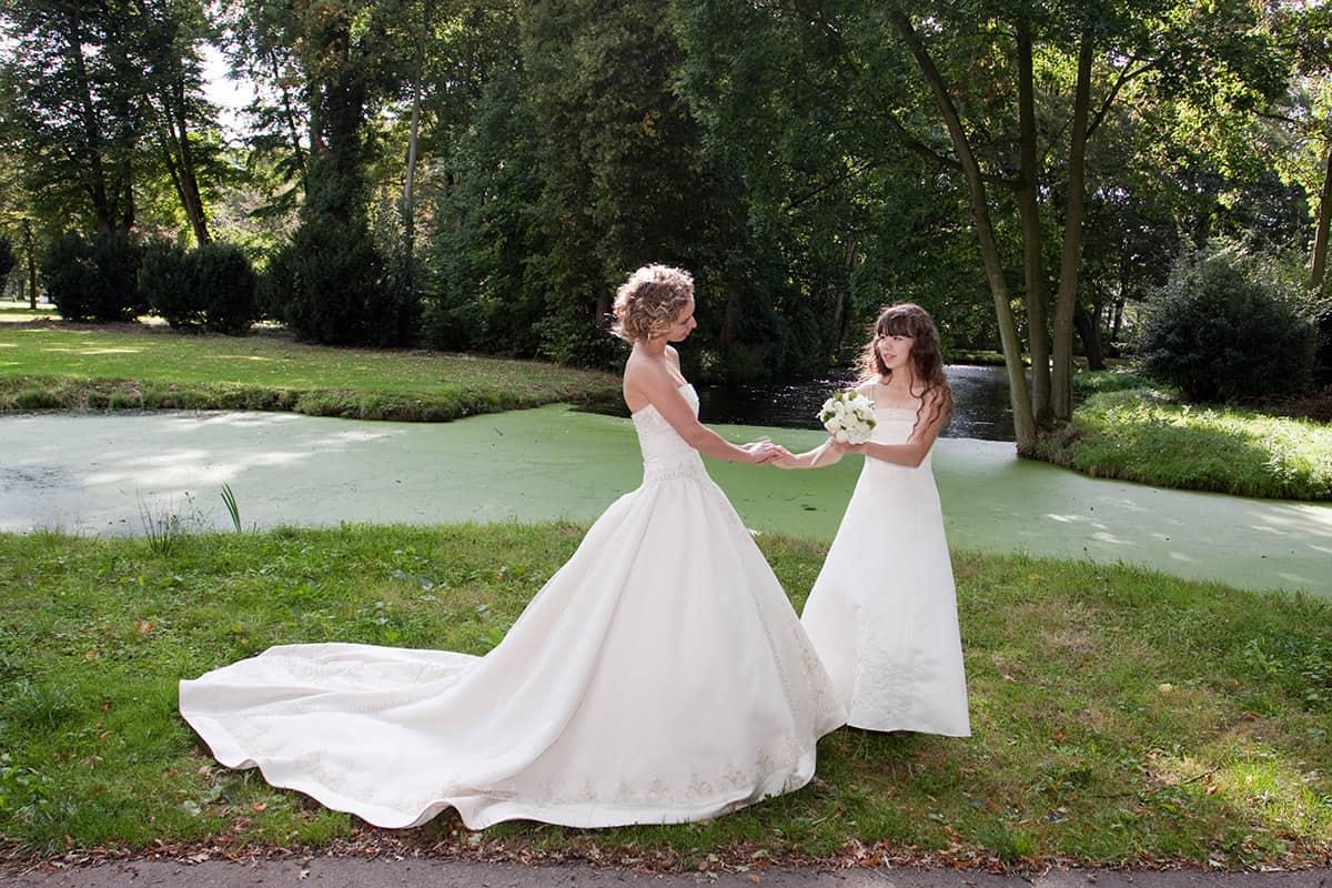 Trouwlocatie Kasteel De Haar bruidsfotograaf trouwfoto