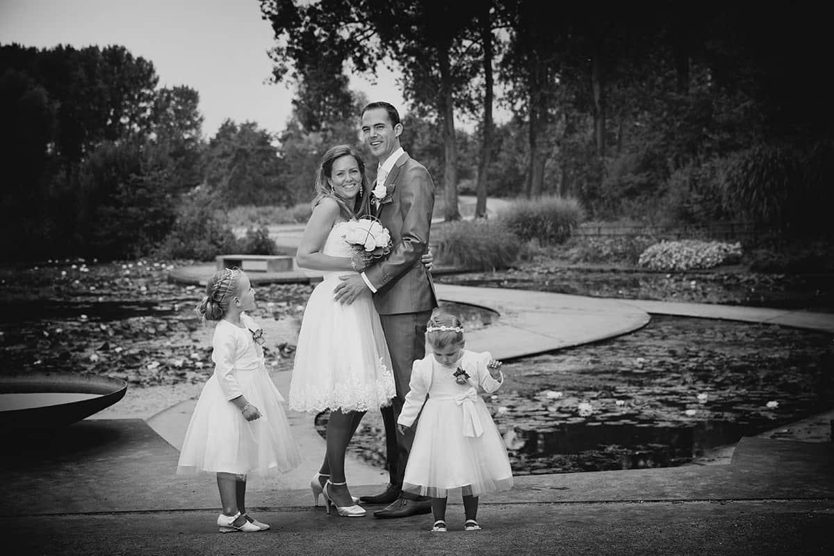 bruidsfotografie Haarlemmermeerse Bos Hoofddorp