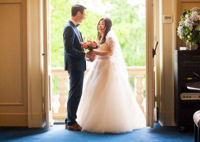 trouwen raadhuis Heemstede trouwfoto