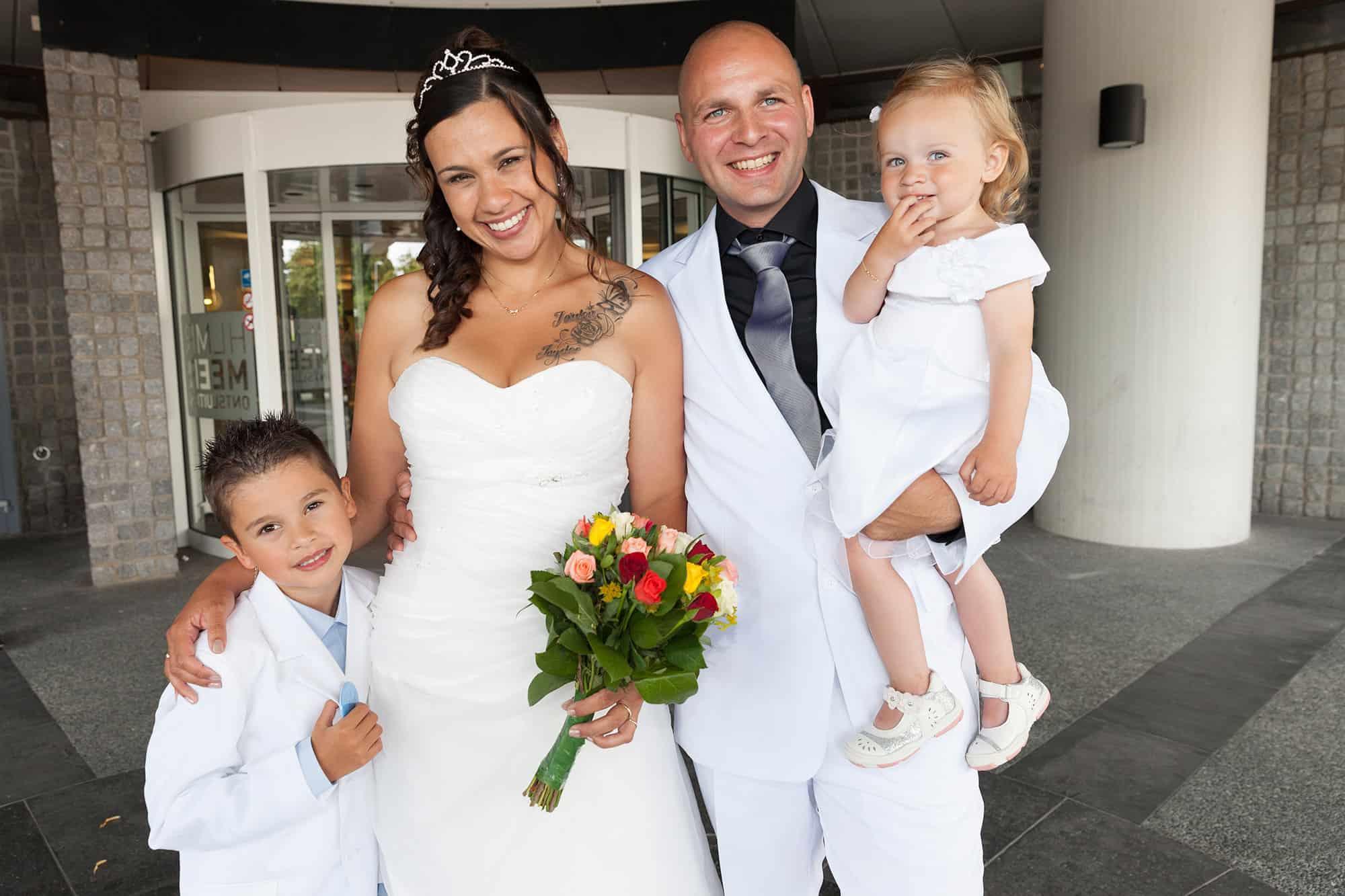 bruidsfotografie Gemeentehuis Hoofddorp