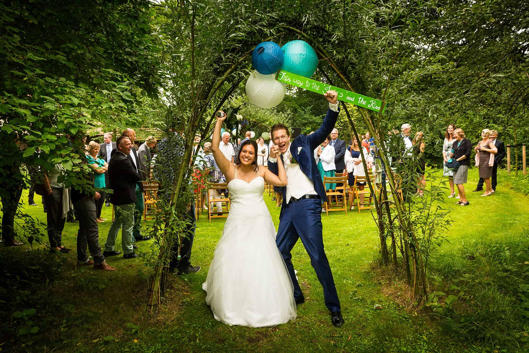 mooiste bruidsfoto