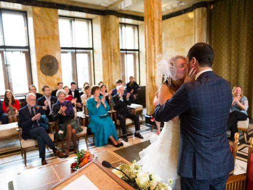Huwelijksceremonie Stadhuis Leiden